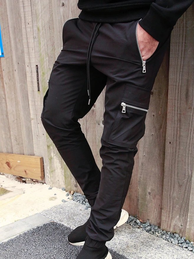 MEN'S PANTS GARRY black