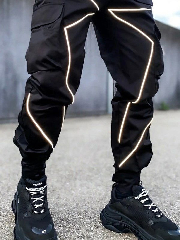 MAN'S PANTS GODRIC black