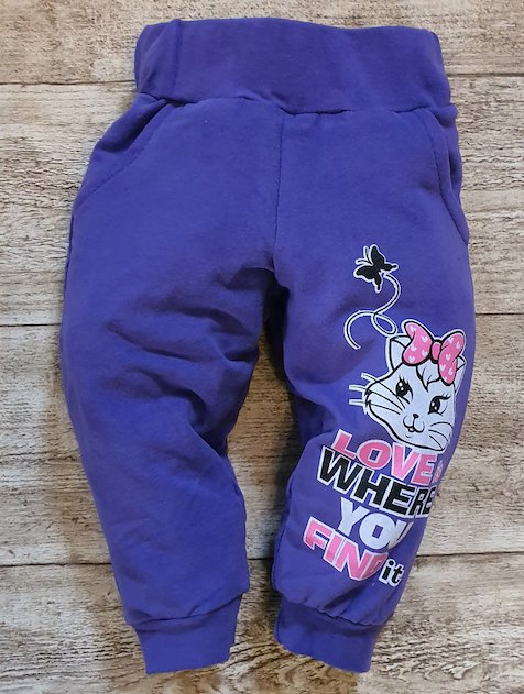 BABY PANTS NORA purple