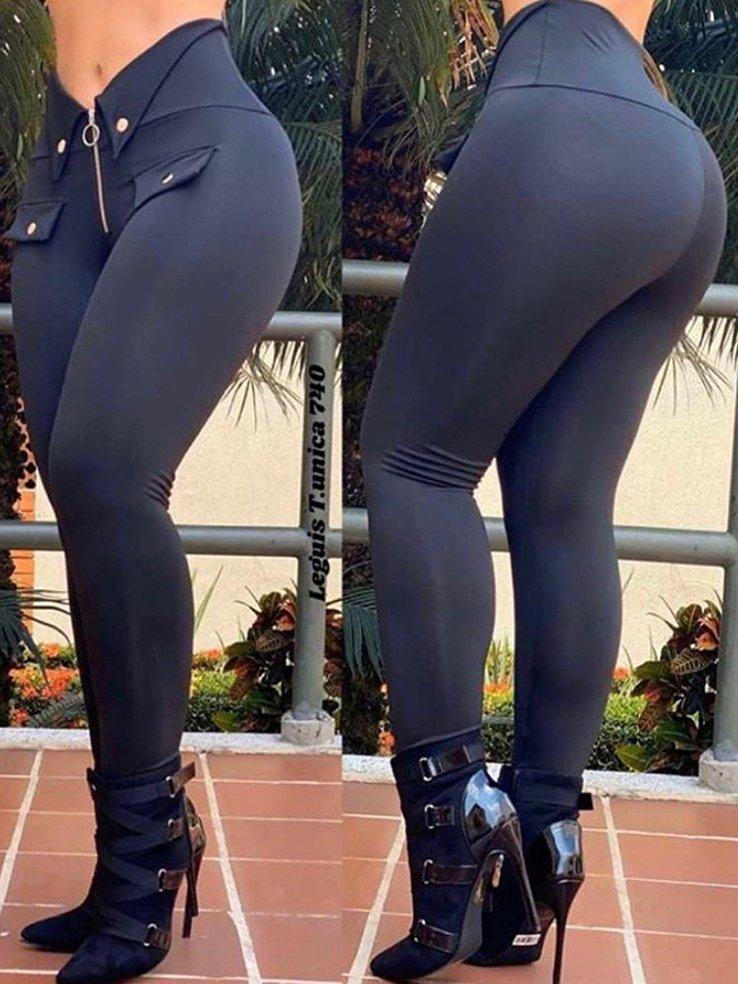 LEGGINGS AUDERY negru