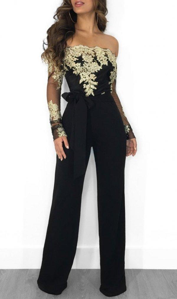 giacca su tutone nero elegante